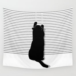 Cat Scratch Wall Tapestry