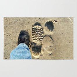 Beach of Big Feet Rug