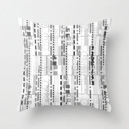 Facade Play Throw Pillow