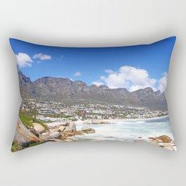 Lovely Cape Town, South Africa Rectangular Pillow