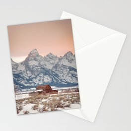 That Alpine Glow Stationery Cards