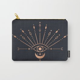The Peacock Eye Carry-All Pouch