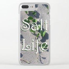 Salt Life Sand Clear iPhone Case