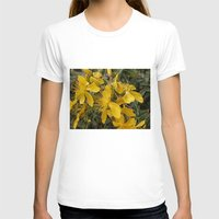 marc johns T-shirts featuring Beautiful St Johns Wort by Wendy Townrow