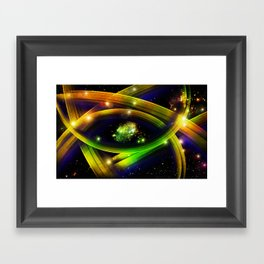 Eye of the Universe Framed Art Print