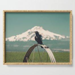 Mt. Jefferson Raven Serving Tray