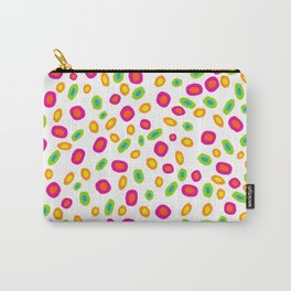 Colorful Circles Abstract Print Carry-All Pouch