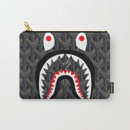 Goyard Bape Shark Grey Carry-All Pouch