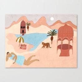 Desert Beach Canvas Print