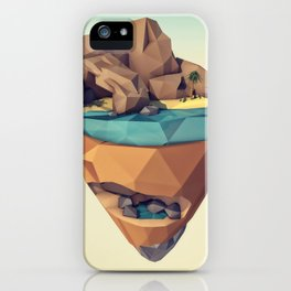 Island Worlds. Oasis iPhone Case