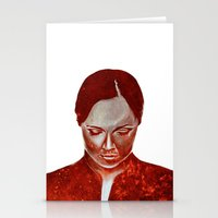 moulin rouge Stationery Cards featuring ROUGE by Jeremy Parigi