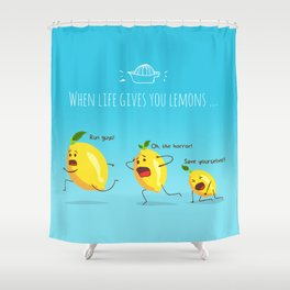 LemonAID Shower Curtain