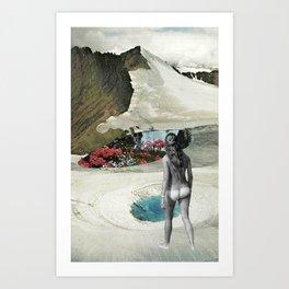 Valley Of Bloom Art Print