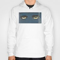 gatsby Hoodies featuring Gatsby Stare  by Julia Lopez