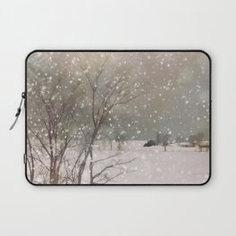 Snowfall Laptop Sleeve