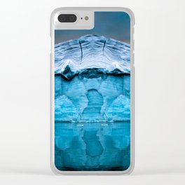 Alaska Glacier Clear iPhone Case