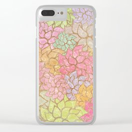 Summer Pattern #4 Clear iPhone Case