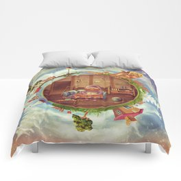 Friendly small Planet Comforters