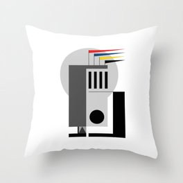 BAUHAUS DREAMING Throw Pillow