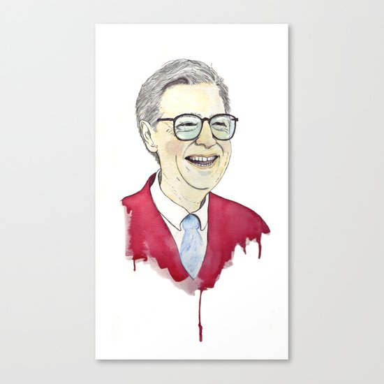 MR. Rogers Canvas Print