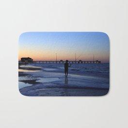 Surf Fishing Outer Banks Bath Mat