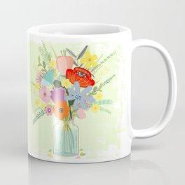 Bringing Summer Wildflowers Inside Coffee Mug