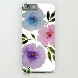 Floral Fanciness... iPhone Case