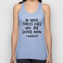 Super Mom Unisex Tank Top