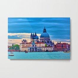 Venice at Dawn Metal Print