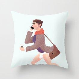 Forgot something? Throw Pillow