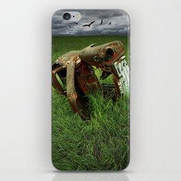 Steel Auto Body Carcass iPhone Skin