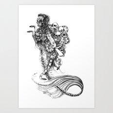 Symbiosis III  Art Print