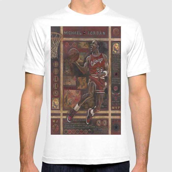 acf72a534968 Micheal jordan T-shirt by raystephenson