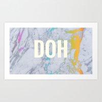Rep DOH Art Print