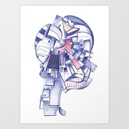 #26 – Maschera Art Print
