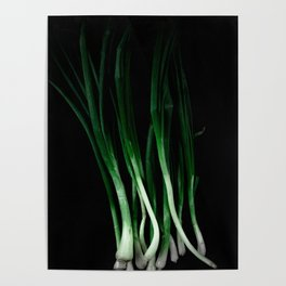 Green onion Poster