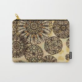 Rosette Tumble Carry-All Pouch