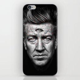 third eye Lynch iPhone Skin