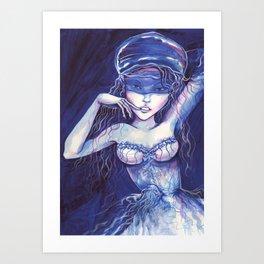 Jellyfish - Medusa Art Print