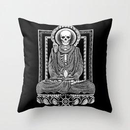 Gautama Buddha and Mucalinda Throw Pillow