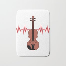 Does Cello is the center of your Heartbeat? Grab this awesome tee now made perfectly for you!  Bath Mat