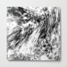 emerging, b&w Metal Print