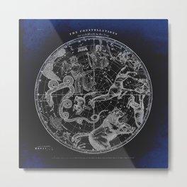NY, Constellations Metal Print