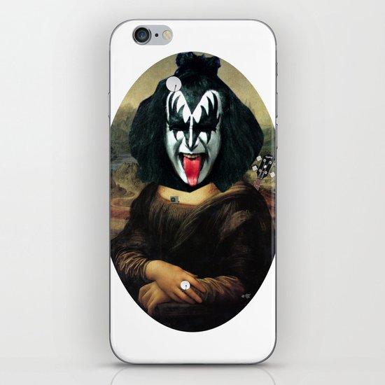 Kiss Mona Collage iPhone & iPod Skin