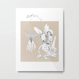 Weird & Wonderful: Harehopper Metal Print