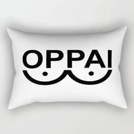 OPPAI - One-punch man tribute Rectangular Pillow