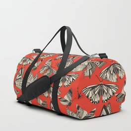 summer butterflies fire Duffle Bag