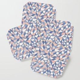 Shifting geometric pattern Coaster