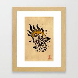 Skate Calaka Framed Art Print