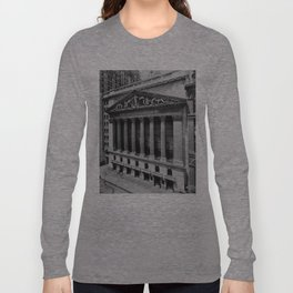 Vintage NYC Stock Exchange Photograph (1908) Long Sleeve T-shirt
